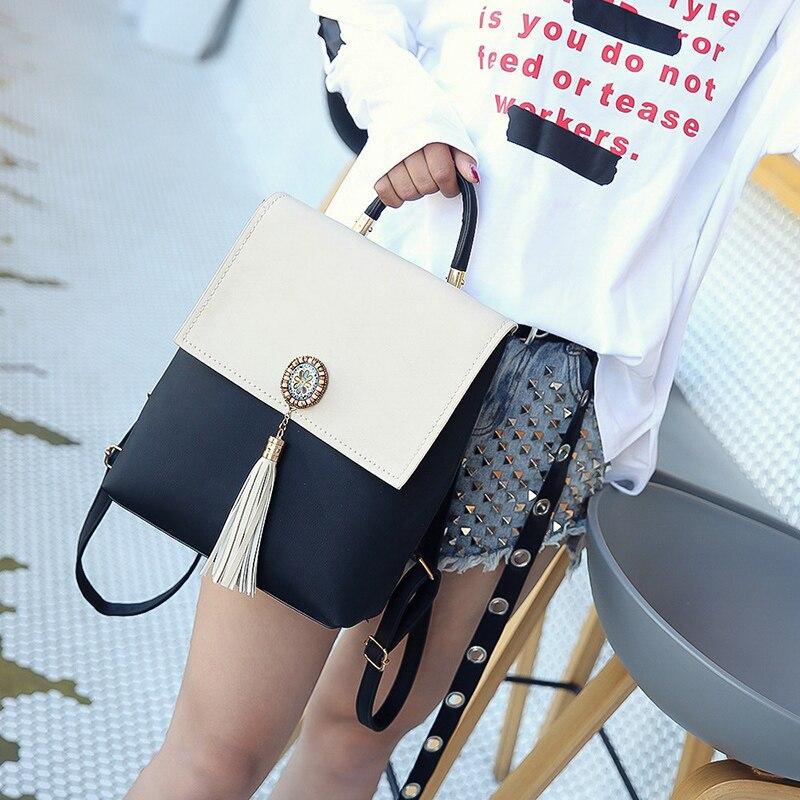 bolsa feminina mochila sacolas bonito Tipo de Mochila : Livro de Bolso
