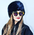 Autumn Winter high quality fur hat for women and men unisex Fashion lady warm Headwear Fur flat Caps headgear