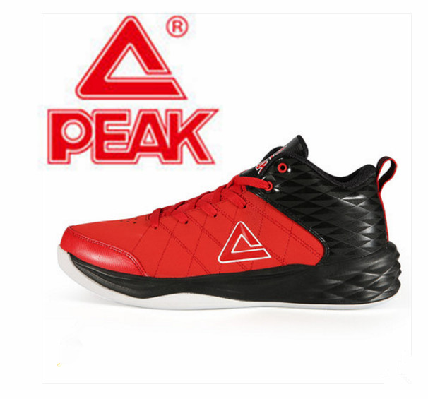 675ad2aa7806 Peak 2018 autumn and winter new men s basketball shoes leather face field combat  shoes wear non slip shoes-in Basketball Shoes from Sports   Entertainment  ...