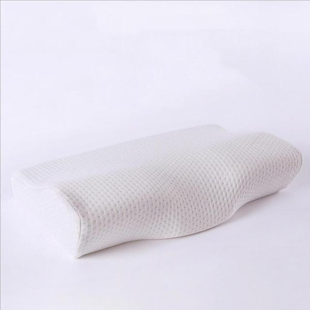 Orthopedic Latex Magnetic 50*30CM White Color Neck Pillow Slow Rebound Memory Foam Pillow Cervical Health Care Pain Release 5