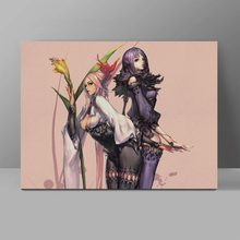 Blade & Soul Sexy Beauty Wall Pictures Video Game Poster Canvas Painting Corridor HD Print Home Decor blade 180qx hd