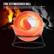 Bola de extintor de 5,9 pulgadas, herramienta de seguridad para detener la pérdida de fuego (1,3 KG), polvo seco inofensivo ambiental