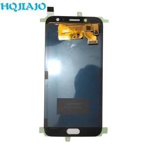Image 2 - AMOLED LCD Display Für Samsung Galaxy J7 Pro 2017 J730 J730F J730FM LCD Display Touchscreen Digitizer Montage LCD J730