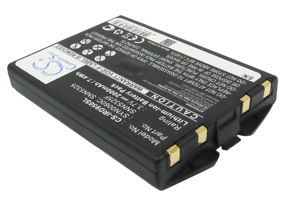 Wholesale Satellite Phone Battery For IRIDIUM 9500,9505 (P/N For IRIDIUM SNN5325 SNN5325F SYN0060C) Free Shipping(China)