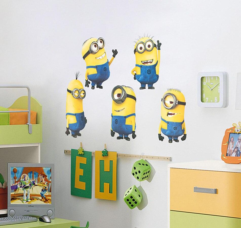 Minion Wall Decor online get cheap minion wall decals kids 3d -aliexpress