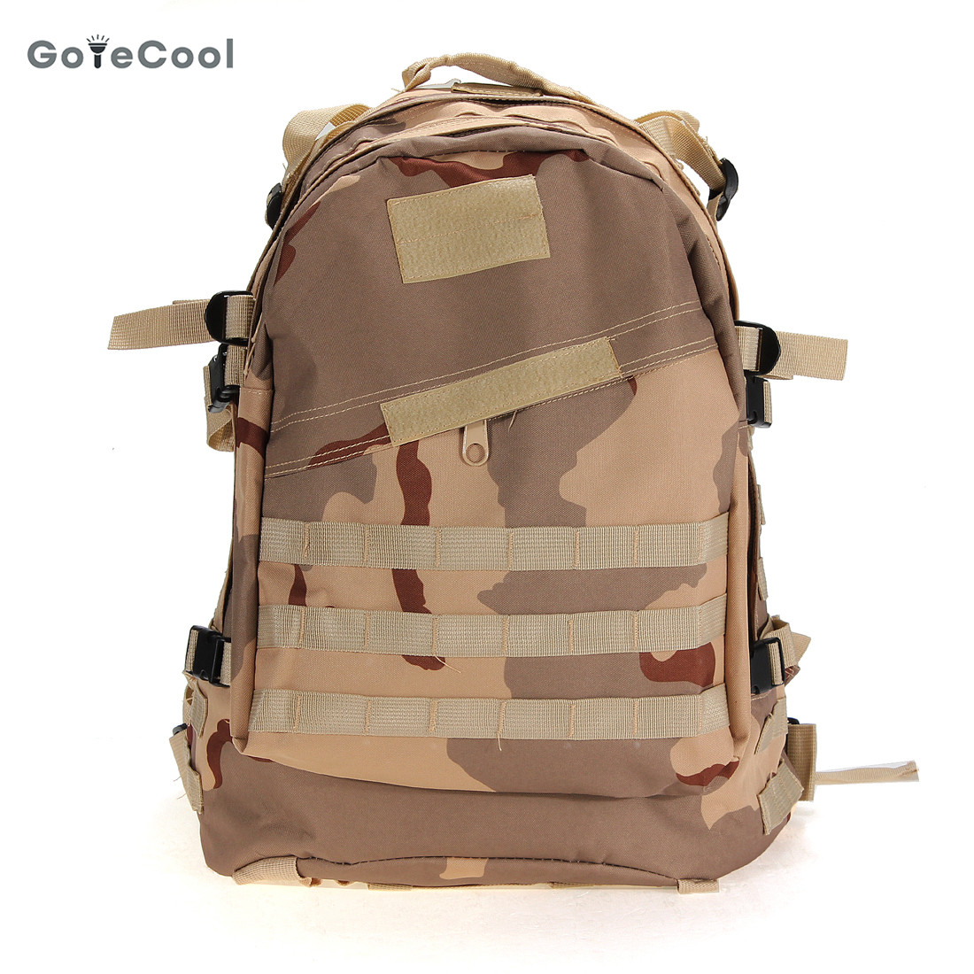 Excellent quality 55L 3D Outdoor Sport Military Tactical Backpack Rucksack Bag for Camping Traveling Hiking Trekking