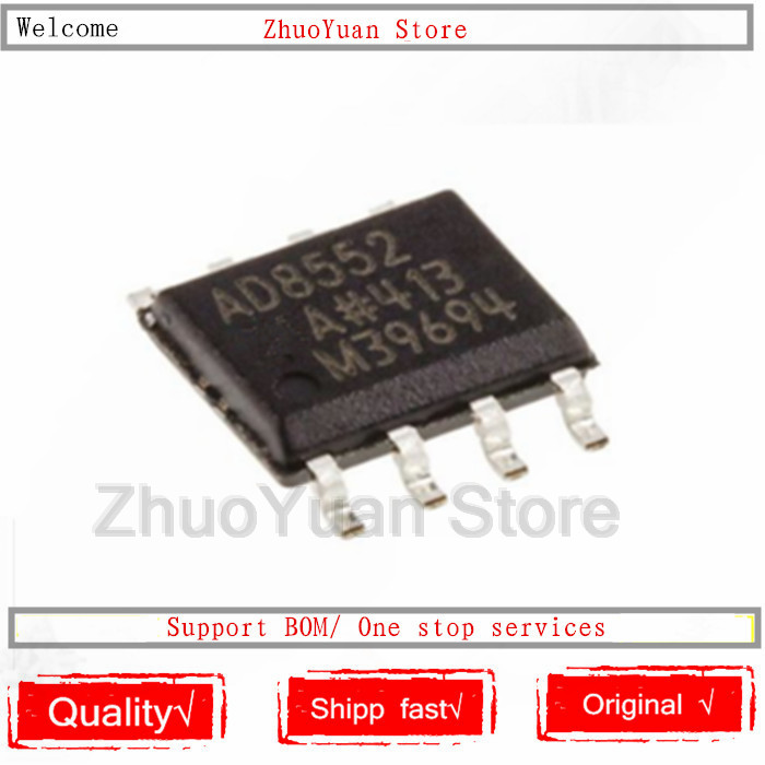 1PCS/lot AD8552 AD8552ARZ AD8552AR SOP-8 AD8552A IC Chip New Original