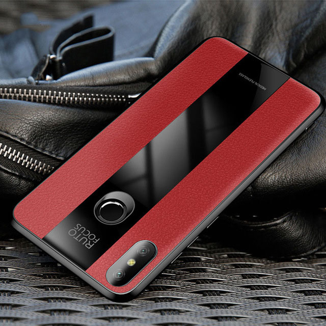 Luxury-PU-Leather-Business-Case-For-Huawei-honor-8X-Max-V10-10-Case-Covers-Soft-Silicone