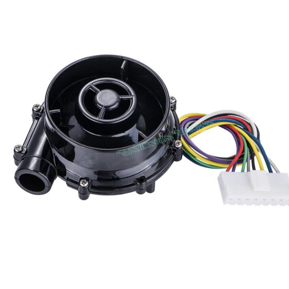 Tools : DC 12V DC 24V WS7040 Small high pressure DC brushless centrifugal blowerCar air purifier fanNegative pressure suction fan