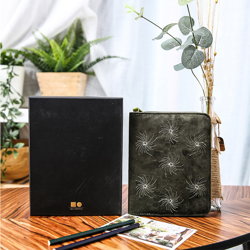 Yiwi A6 Zipper Hobo velvet  Planner Travelers Noteboook Agenda Organizer Stationery School Supplies Notebooks and journalsYiwi A6 Zipper Hobo velvet  Planner Travelers Noteboook Agenda Organizer Stationery School Supplies Notebooks and journals