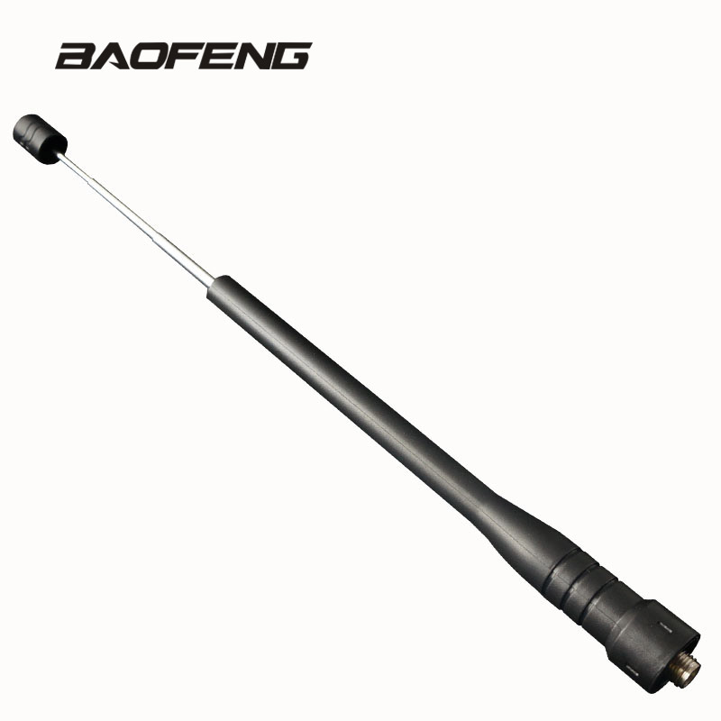 Rod Telescopic Gain Antenna For Baofeng Walkie Talkie Dual Band UHF For  Portable Radio UV-5R BF-888S UV-5RE UV-82 UV-3R