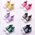 Bebé niñas niños deportes zapatos de lona primeros caminante Sneakers infantil botas de fondos blandos BS10