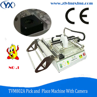 Pcb Manufacturing And Assembly Machines Automatic Smd Mounter Led Bulb Manufacturing Machine TVM802A