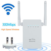 Wireless N Wifi Repeater 802 11 N Network WLAN Range Expander 300Mbps 2 4Ghz