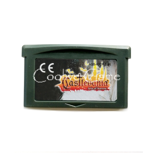 Castlevania Asia of Sorrow EUR Version Multi Language for 32 Bit Handheld Advance Console Video Game Cartridge Console Card