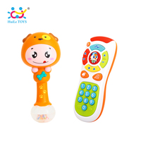 Baby Hammer Toy Dynamic Rhythm Stick Electric Click Count Remote With Light Music
