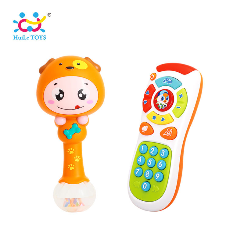 все цены на Baby Hammer Toy Dynamic Rhythm Stick & Electric Click & Count Remote with Light & Music