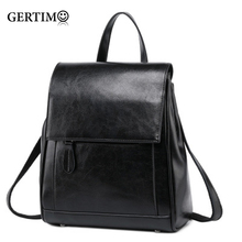 Luxury Bag-Women's Design Genuine/Real Leather Backpacks Back and Shoulder Bag Cow leather Lady Travel Back pack Brown Borse