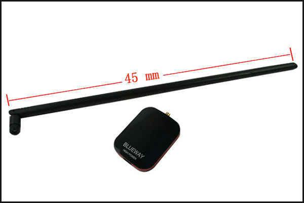 2000mW Blueway אלחוטי רשת כרטיס להגדיל Compuer אות מתח גבוה USB Wifi מתאם Wifi אנטנה עם 18dBi אנטנה N9500