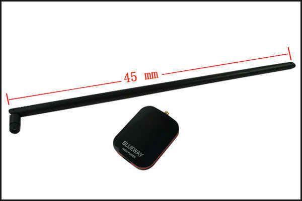 2000mW Blueway bezprzewodowa karta sieciowa zwiększenie sygnału Compuer wysoka moc usb adapter Wifi Wifi antena z 18dBi antena N9500