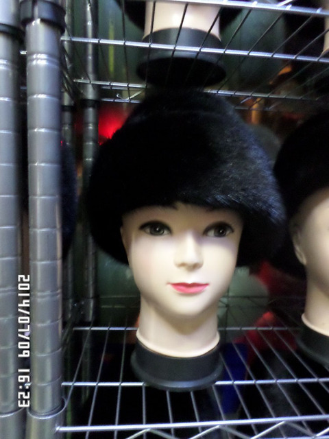 2016 new real fur  mink fur women fashion hat cap winter warm freeshipping NEW