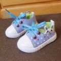 JRQIOT 2017 Spring Section Baby Shoes Baby Canvas Shoes Soft Bottom Toddler Sneakers Kids Comfy Girl Shoes 0-1-2 Years Old