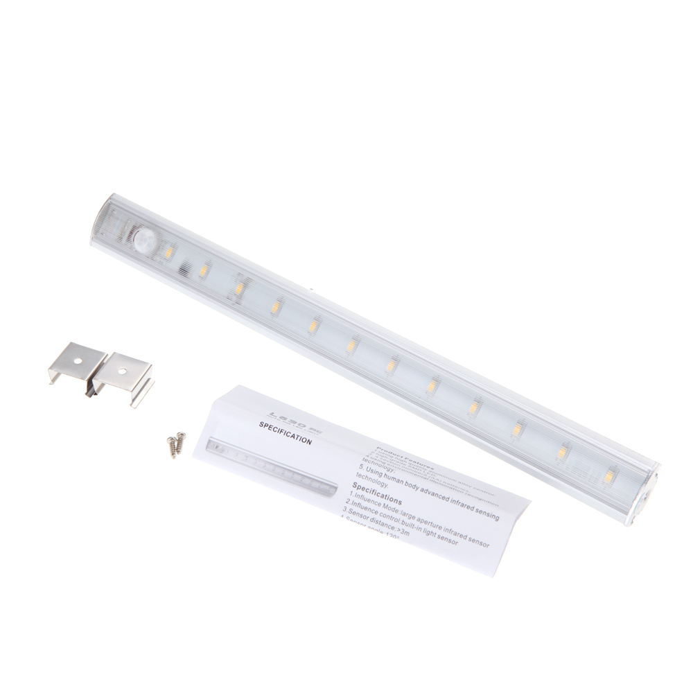 CNIM Горячие LED При Кабинете Свет PIR Датчик Движения Лампы Кухня Шкаф Шкаф Шкаф 30 см (Теплый Белый)