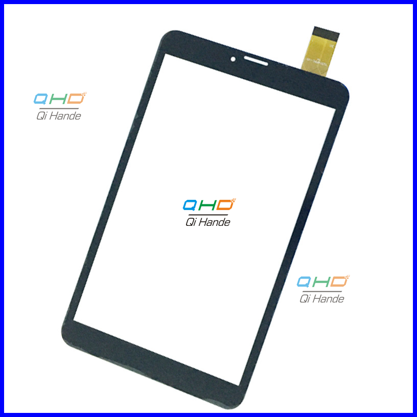 Black New 8'' inch Tablet Capacitive Touch Screen Replacement For yj314fpc-v0 Digitizer External screen Sensor Free Shipping black new 8 tablet pc yj314fpc v0 fhx authentic touch screen handwriting screen multi point capacitive screen external screen