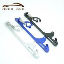 Заготовки алюминия дроссельной заслонки Carb кронштейн для карбюратора для Holley 4150 4160 SL