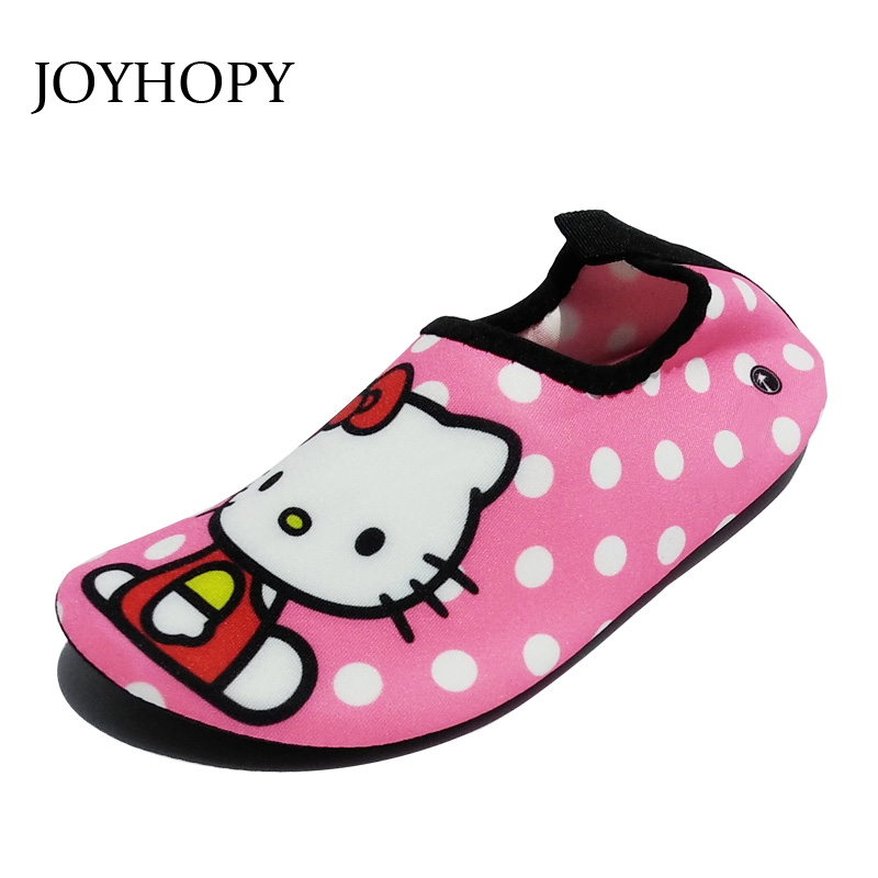 Quick Dry Children Girls Shoes Sneaker sport running Anti-slip for Swimming Pool/Beach Kids Shoes Girl Sneakers Cute Cat