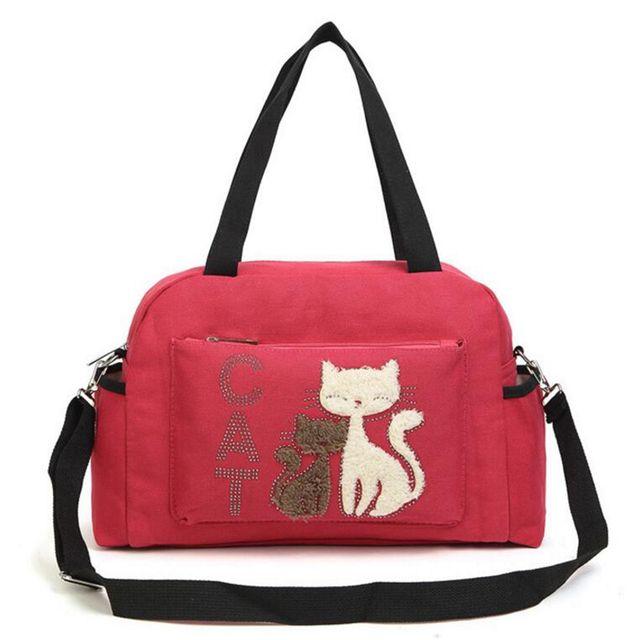 Women's Cat Printed Handbags