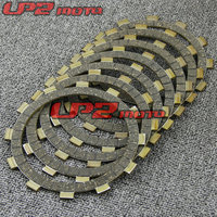For Suzuki RGV250 M/N/P/R 1991 1996 Paper Based Clutch Friction Kit Disc Plates Set Motorbike Parts Accessories
