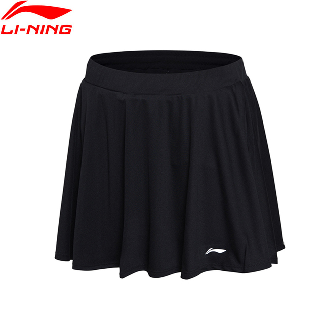 Li-Ning Women Badminton Skirt AT DRY 100% Polyester Regular Fit Comfort LiNing Sports Skirt ASKL116 WKQ061