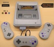 Hdmi retro tv vídeo game console para snes cartuchos de jogo com 2 sem fio + 1 wired gamepads cartão de jogo livre com 344 jogos para nes