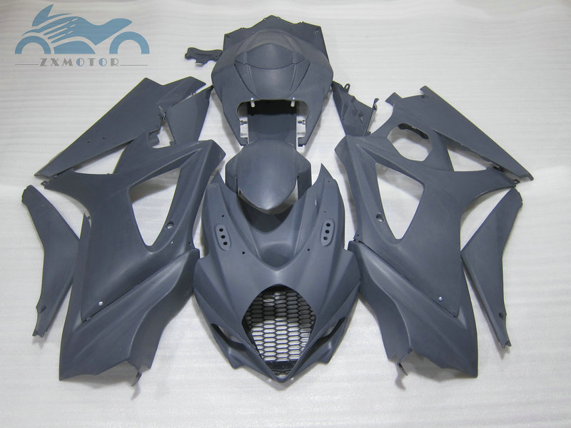 Upgrade road Fairing <font><b>kits</b></font> for <font><b>Suzuki</b></font> GSXR 1000 2007 2008 <font><b>GSXR1000</b></font> K7 <font><b>K8</b></font> ABS motorcycle full fairings <font><b>kit</b></font> 07 08 gray repair <font><b>kit</b></font> image