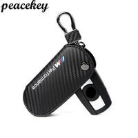 Peacekey Genuine Leather Key Holder Case Cover For Bmw E90 F30 F34 F10 E70 E71 X1