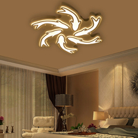 Новое поступление современные потолочные светильники для гостиной спальни Прихожая домашний потолочный светильник акриловый светодио дн