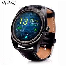 NEUE Tragbare Geräte Smart Uhren K89 Bluetooth Smartwatch für Android und ISO mit Pulsmesser Reloj Inteligente