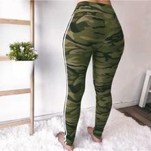 Spring Warm Camouflage Print Pant Leggings