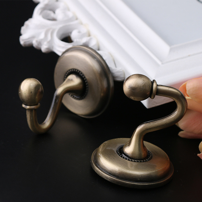 Brief Ball Peen Curtain Wholesale Single Spot Wall Hook Direct Supply Curtain Hat-and-coat Hooks