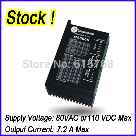 Leadshine MA860H 2 Phase Analog Stepper Drive Max 80 VAC or 110 VDC 7.2A IN STOCK ! FREE SHIPPING! 2pcs lot leadshine 2 phase high precision stepper drive am882