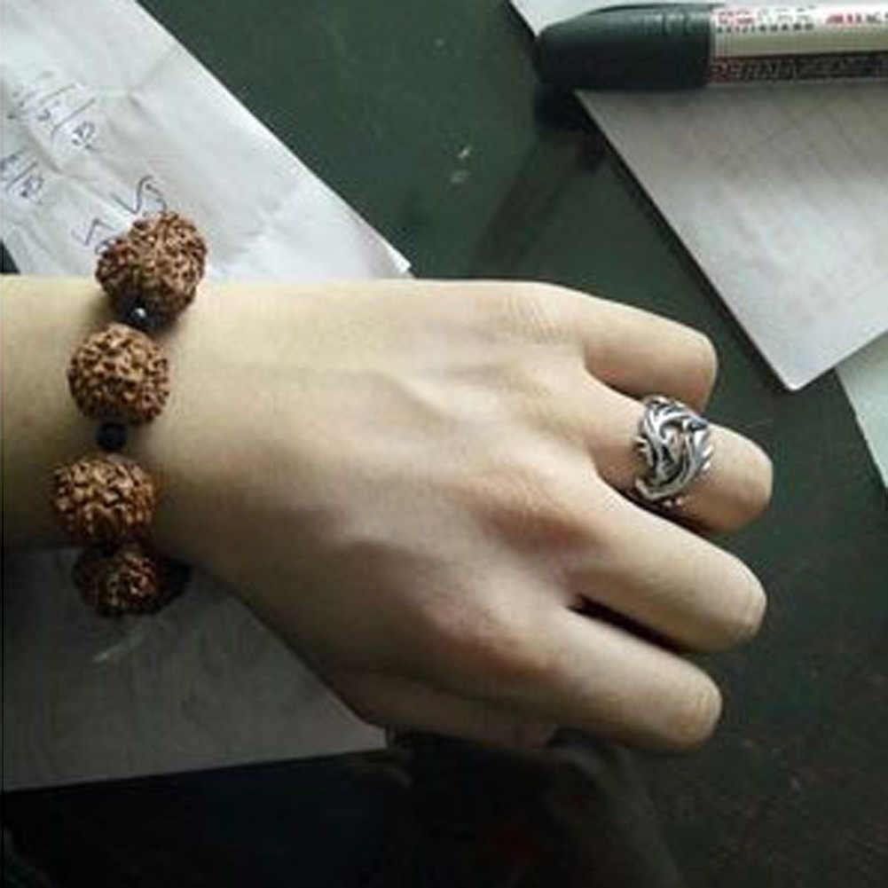Biżuteria ze stali nierdzewnej stałe wewnątrz smoczych pierścieni mężczyzn pierścień motocyklisty spersonalizowany prezent