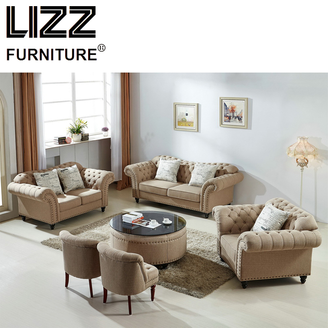 living room loveseat comfortable furniture sets classic sofa chair fabric sectional set modern scandinavian canape office divani