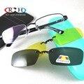 Очки Кадр Оптические Очки Кадров Очки Рамки 2 ШТ. Магнитные Поляризованные Очки Клип на Желтый Ночного Видения Очки