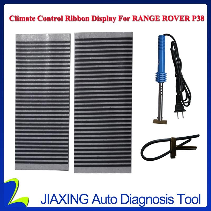 5 Pz/lotto Climatizzatore Nastro Display Per Range Rover P38 Acc Riparazione Sostituzione Pixel E 1 Pz Saldatura Punta Di Saldatura Di Ferro Pistola Un Arricchimento E Nutriente Per Il Fegato E Il Rene