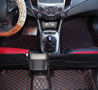 Accessories For Chevrolet Malibu 2013 2015 Accessories Interior Leather Carpets Cover Car Foot Mat Floor Pad 1set