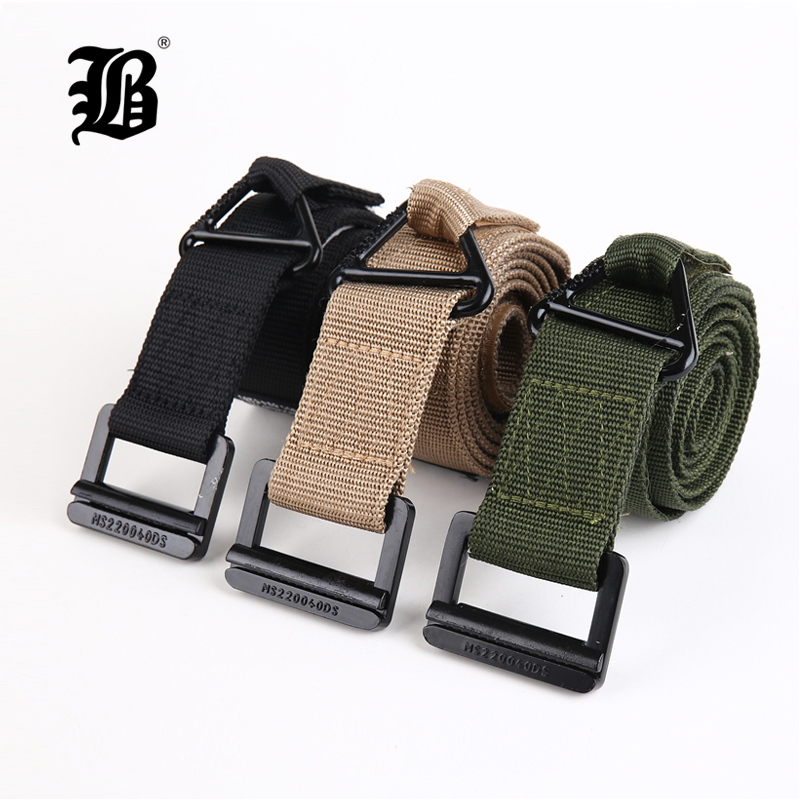[FLB] Camouflage Military Equipment Tactical Belt Men Combat Knock Off Army Belt Nylon Heavy Duty Paintball Waist Belt FP091