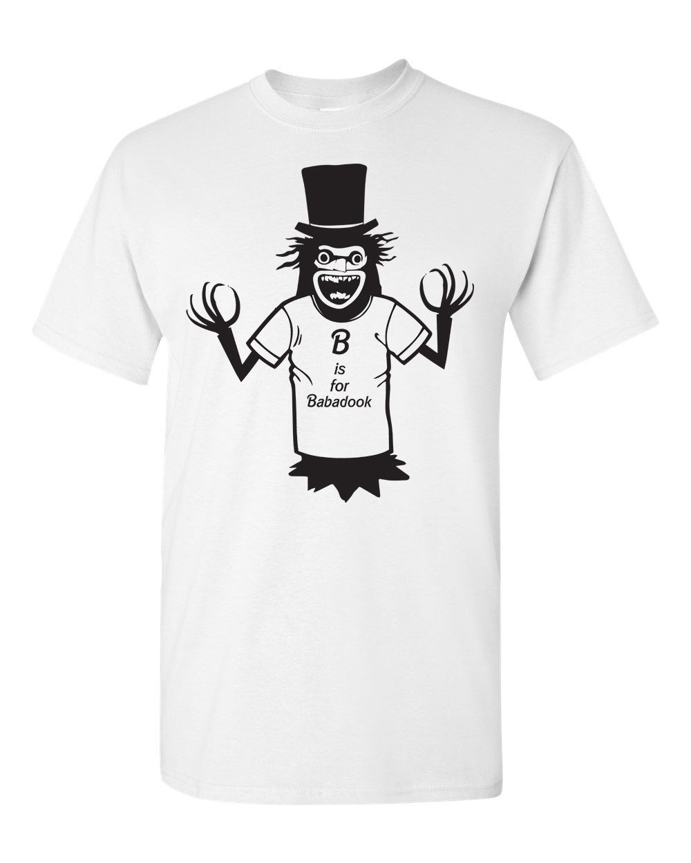 The Babadook Dook GAY LGBT Horror Movie Scary Halloween Men's Tee Shirt 1647 custom printed tshirt Comfortable t shirt image