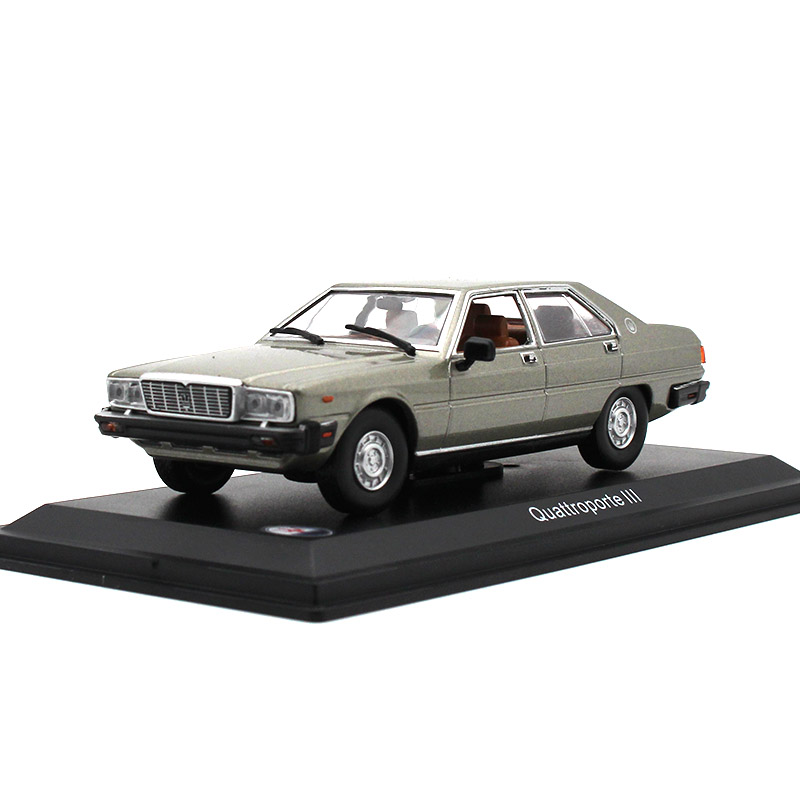 LEO 1:43 Alloy Car Model Maserati Quattroporte 3 Collection Decoration Kids Toys The Best Gift For Children