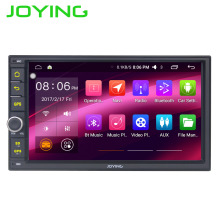 Joying Cheapest HD 1024*600 2 din Android Stereo GPS Navigation steering wheel head unit radio for Nissan qashqai X-Trai